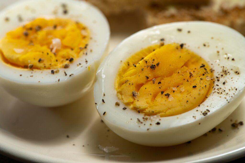 카지노 음식 삶은 계란